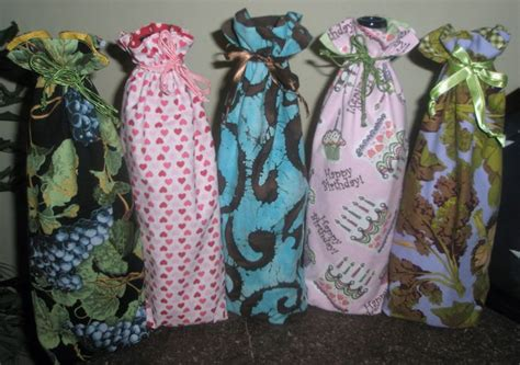 Handmade Wine Bags - 1000 images about fabric wine bags on wine