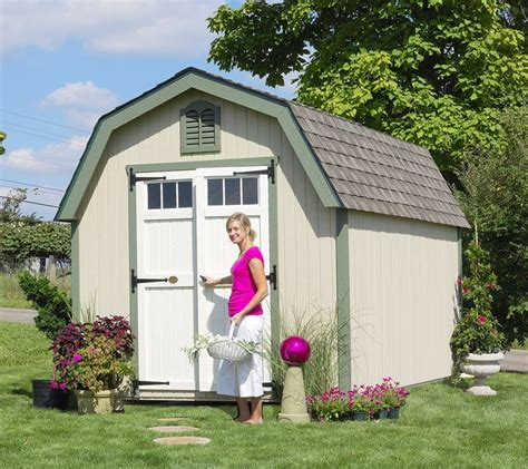 amish colonial greenfield garden shed panelized kit