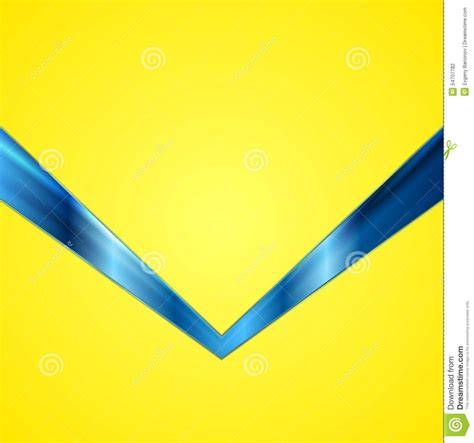 background design yellow blue abstract contrast yellow blue tech background stock vector
