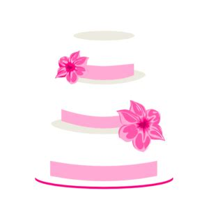 Wedding Animation Kl by Pink Wedding Cake Clipart 58
