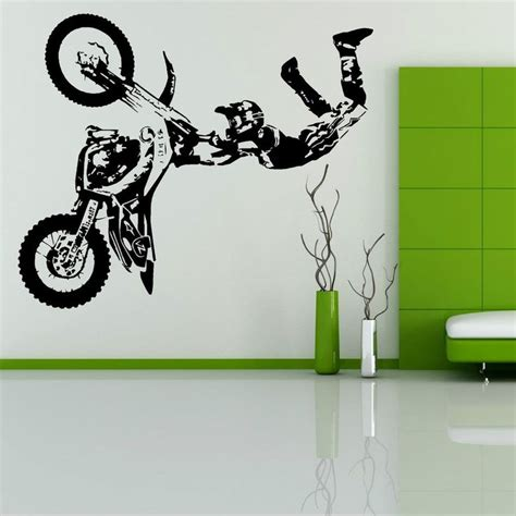 bicycle wall stickers 25 best ideas about dirt bike room on dirt