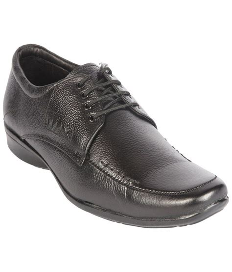 corpus fancy black lace up formal shoes for price in