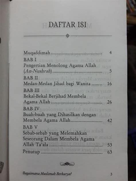 Begini Seharusnya Menjadi Muslimah Cerdas buku saku bagaimana muslimah berkarya toko muslim title