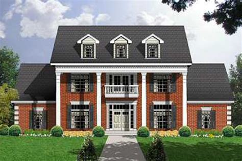 house plans type mod038 exterior colonial style house plan 3 beds 3 5 baths 3266 sq ft