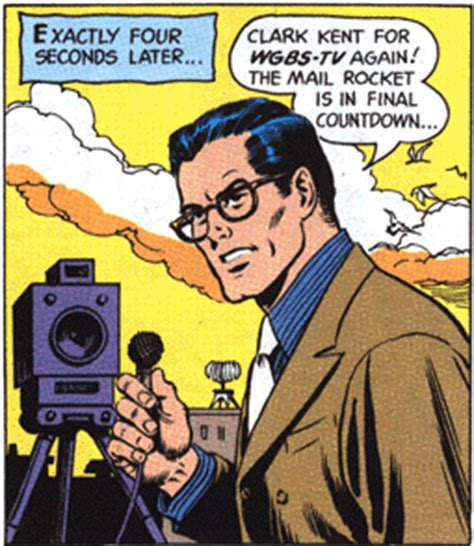 reporter books clark kent quits the quot daily planet quot from newspaper