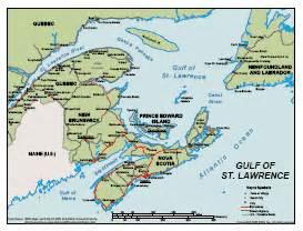 map of canada gulf of st social studies 10 european explorers