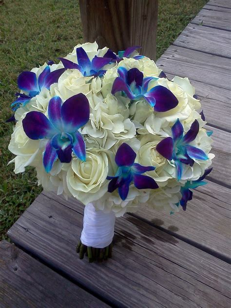 Purple and Blue wedding flowers   LZ Floral's Blog