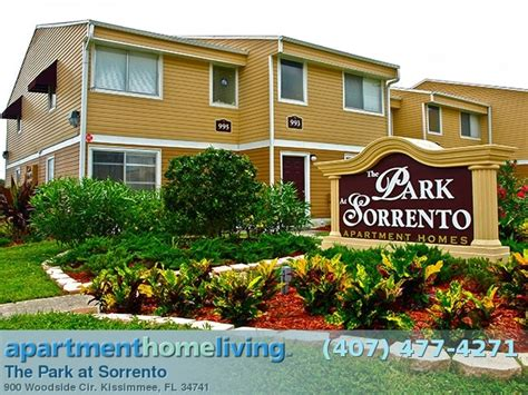 Sorrento Appartments by The Park At Sorrento Apartments Kissimmee Apartments For