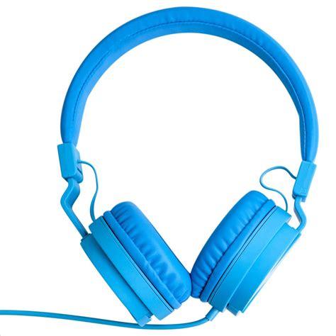 Headset Blue Ear Foldable Headphones Blue Yoobi