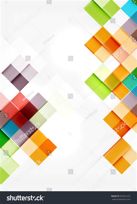 tile pattern app square shape mosaic pattern design universal stock