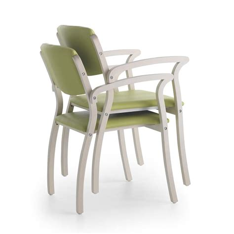 Chair For Elderly by Stable Chair With Armrests Robust For Waiting Room