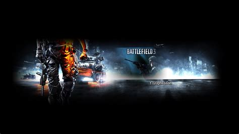 battlefield  youtube channel art banner