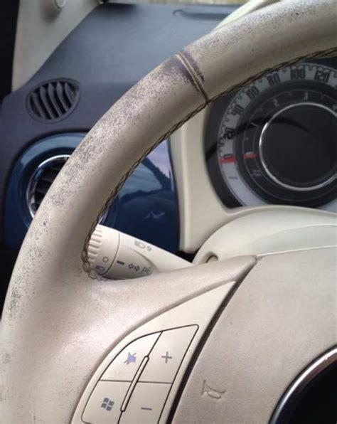 volante fiat 500 lounge kit ritocco vernice volante avorio fiat 500 a brescia