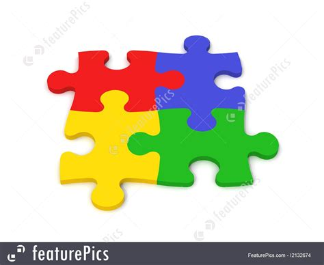 colorful puzzle pieces abstract forms colorful puzzle pieces stock