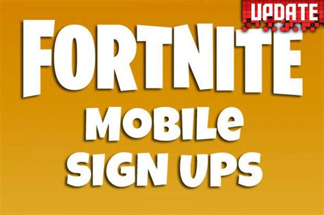 fortnite mobile fortnite mobile ios sign up now live release date and