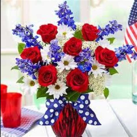wedding flower july pictures patriotic flowers patriotic 4th of july decor