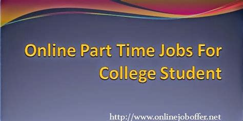 Online Jobs Work From Home For College Students - 13 online jobs for college students from home without