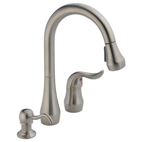 P88102 SSSD   Single Handle Pull Down Kitchen Faucet