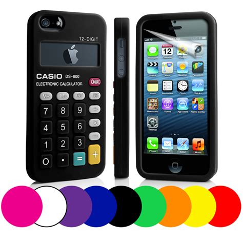 Housing Casing Fullset Apple Iphone 5 5g Original Quality calculator silicone for apple iphone5 iphone 5 5g screen protector ebay