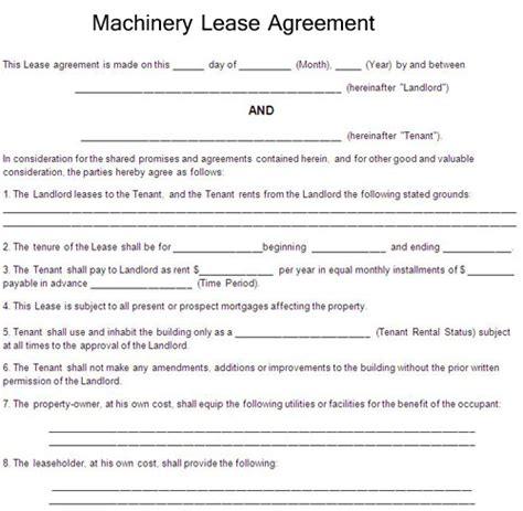equipment rental agreement equipment rental agreement