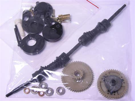 Gear Shaft Ori Tamiya vintage tamiya beetle blackfoot diff counter gear half shafts parts lot ebay