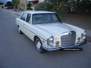 1970 Mercedes 280s 1970 Mercedes 280 Se 8 Model W108