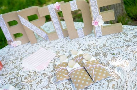 Vintage Lace Bridal Shower Bridal Wedding Shower Party Ideas Photo 1 Of 7 Catch My Party Avery 6150 Template