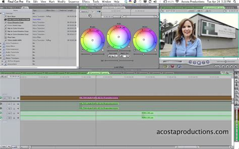 final cut pro quick tutorial how to color correct in final cut pro 7 quick tip