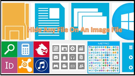 How To Hide A File In A Picture