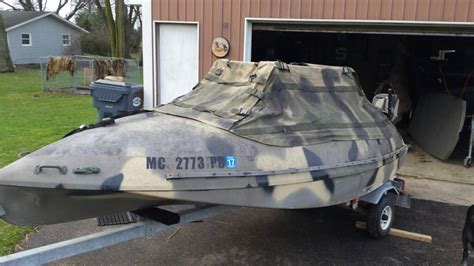duck hunting boat for sale in michigan tdb 14 classic for sale michigan sportsman online