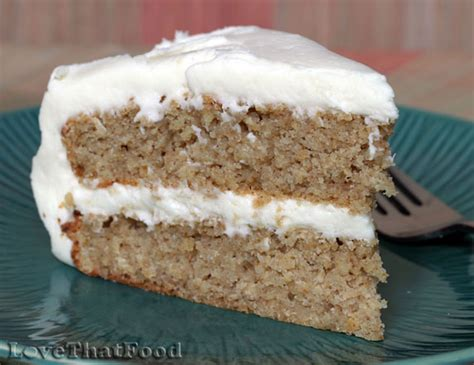 oatmeal applesauce cake with cream cheese frosting recipe with picture lovethatfood com