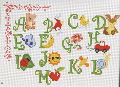 lettere con animali alfabeto animali magiedifilo it punto croce uncinetto