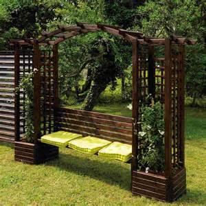 pergola de jardin en bois