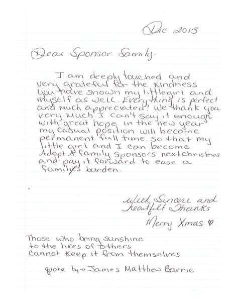 thank you letter to a dear dear sponsor family office interiors office interiors
