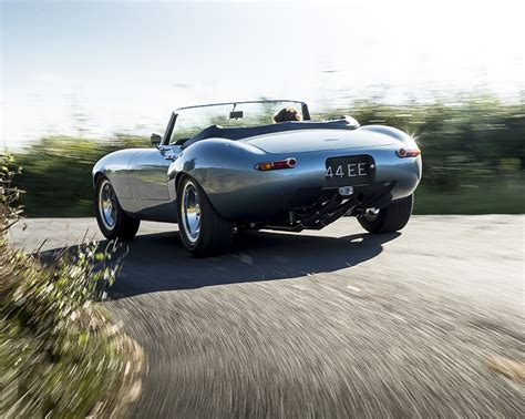 designboom jaguar eagle jaguar e type spyder gt is a beautiful bespoke speedster