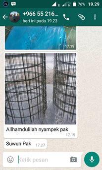 Pesanan Khusus Bos Angger lem kolam terpal terpal kolam