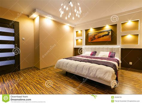modern master bedroom interior royalty free stock photo