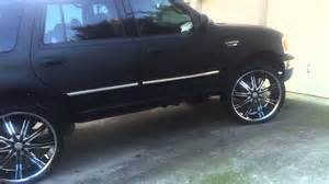 Truck Wheels Song Matte Black Expedition On 26 Inch Dcenti Rims New Paint