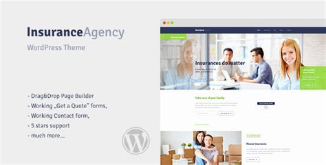 themeforest insurance theme insurance v1 0 wordpress theme for insurance agency