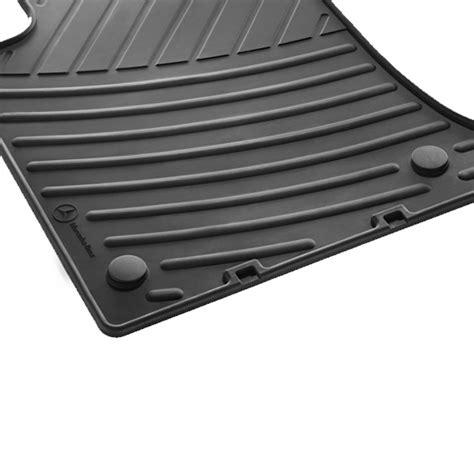car rubber floor mats mercedes glk class x204 original