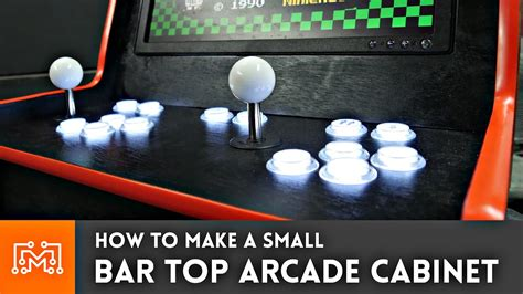 Bar Top Arcade Cabinet by Bar Top Arcade Cabinet With A Raspberry Pi From A Single