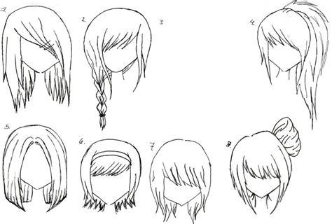 anime hairstyles braids anime hairstyles inkcloth