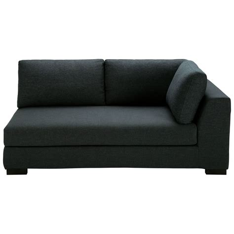 charcoal grey couch charcoal grey monet fabric modular sofa right armrest