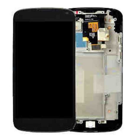 Lcd Touchscreen Frame Lg Nexus 4 E960 Original original nexus 4 lcd screen display with touch pad digitizer glass cellspare
