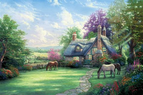 between days red house painters between days house painters summer day a limited edition the kinkade company