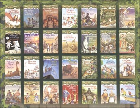 magic tree house list magic tree house library box set books 1 28 021463 details rainbow resource