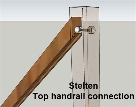 banister rail fixings discounted white oak handrails and baserails from richard