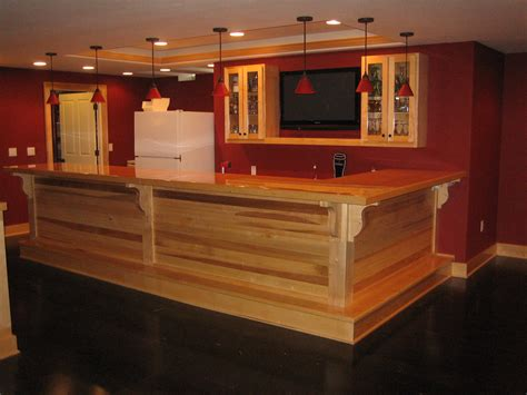 how to build a basement bar rooms