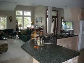 Kitchen Living Room Open Floor Plan Flooring Open Floor Plan Kitchen And Living Room Open