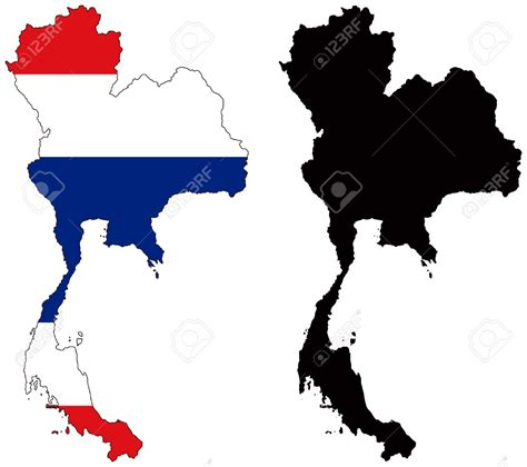 thailand map vector free thailand map clipart 64